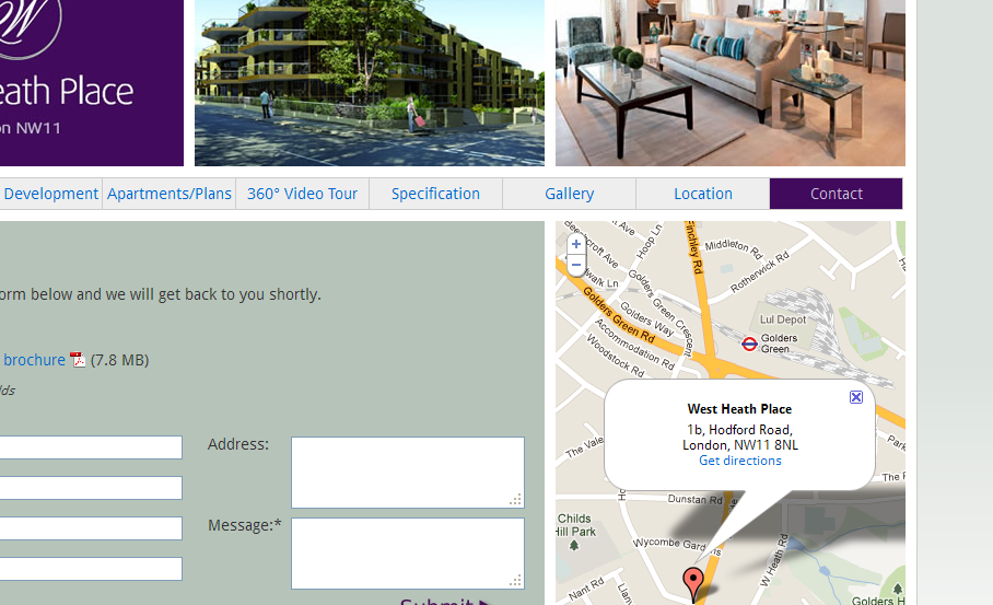 Contact « West Heath Place – Apartments in London NW11 – Finchley Road