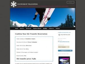 ski transfer quotes feature