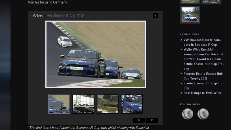 Ross Wylie Racing _ Follow Ross Wylie_s Racing Career