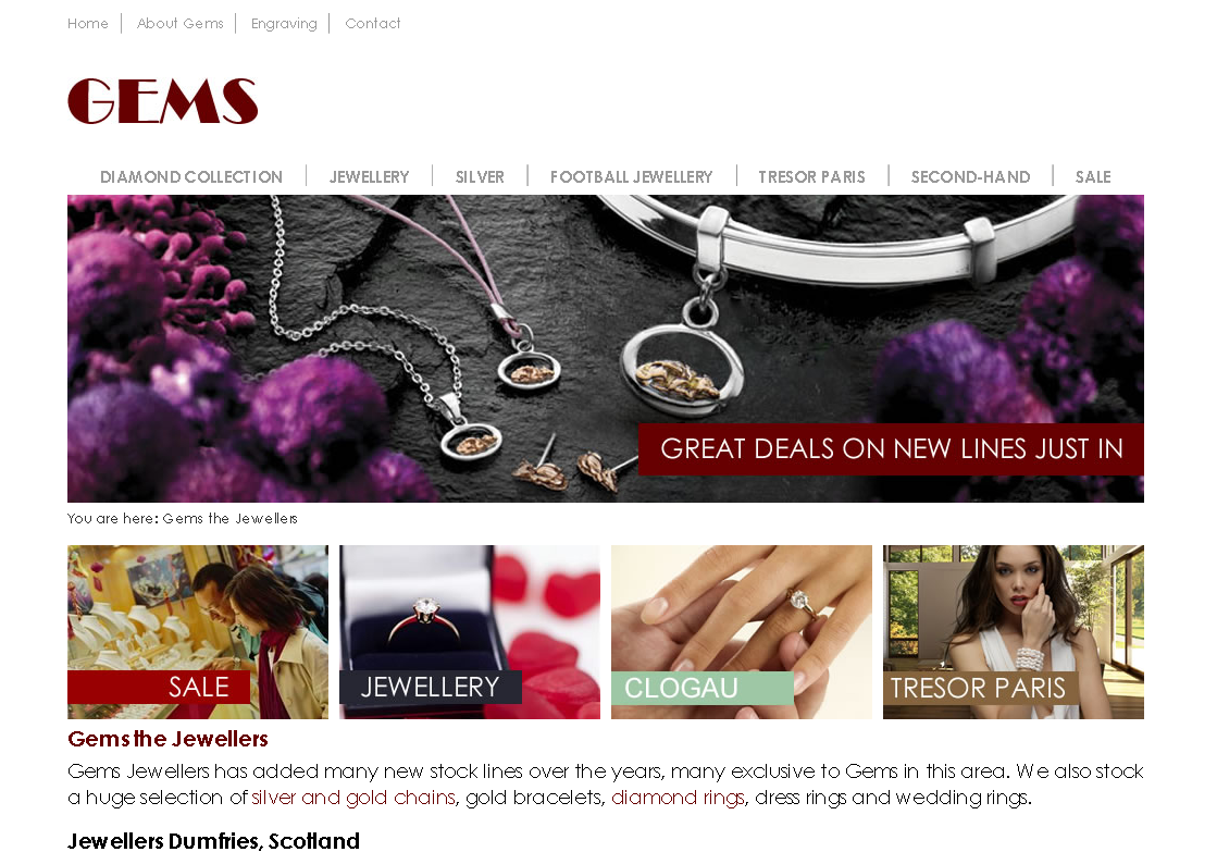 Gems the Jewellers Dumfries