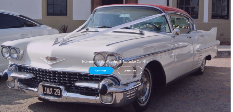Vintage American Cadillac Car Hire for weddings and parties