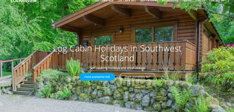 Log Cabin holiday accommodation